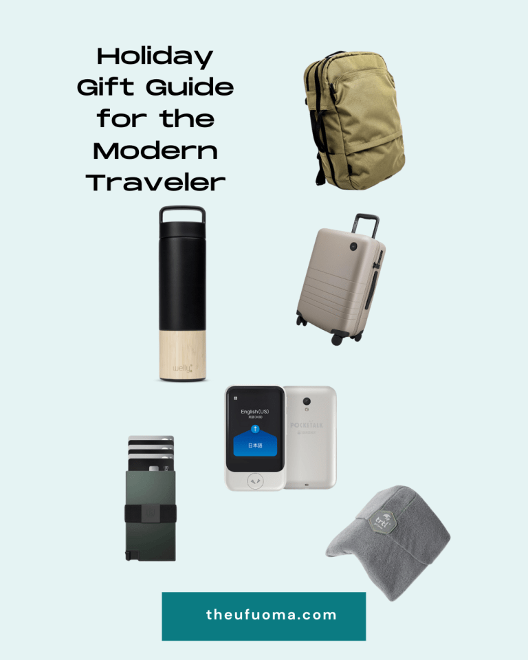 Holiday Gift Guide for the Modern and Savvy Traveler