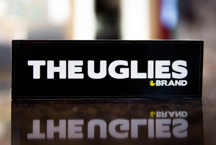 Uglies Skateboard sticker