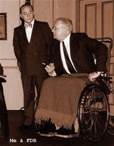 Old Town Playhouse -Traverse City 1999 The role that opened new doors L-R Me as Louis Howe and John Dew as FDR