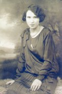 My adoptive mom, Tena before she met my father