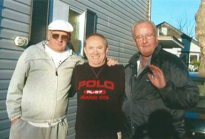 My old Friends, (LR) Howard, me, Shelly in 2006