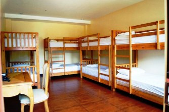 Dormitory Room 8 pax ©photo at TravelBook.ph