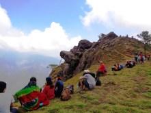 Team Bloggers at Gungal Rock.