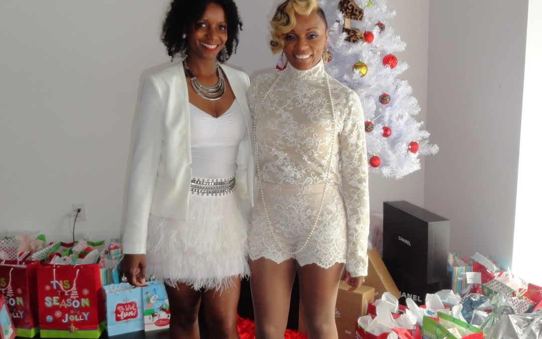 Fashion Stylist Shun Melson Hosts Holiday Event