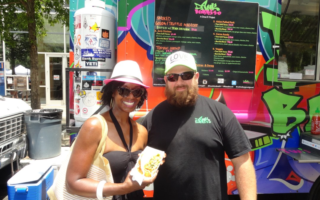 The things we do for food!  Recapping the Downtown Raleigh Food Truck Rodeo