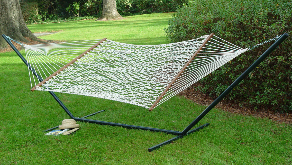 chair algoma shop cotton at lowes rope hammock com pd white