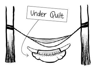 Hammock Under Quilt Example