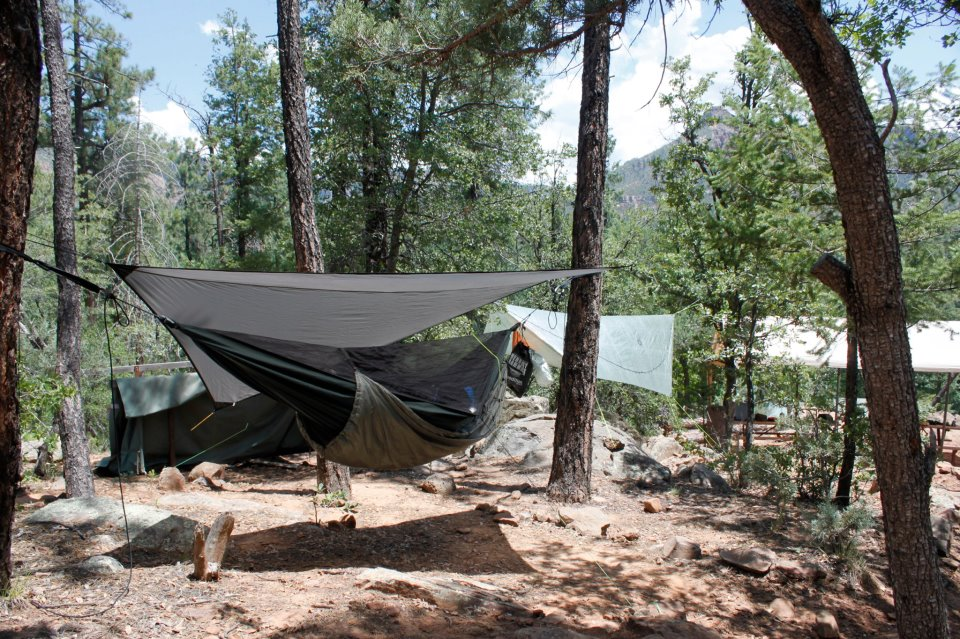 Hammock Camping at Boy Scout Camp Geronimo 2012 - The ...