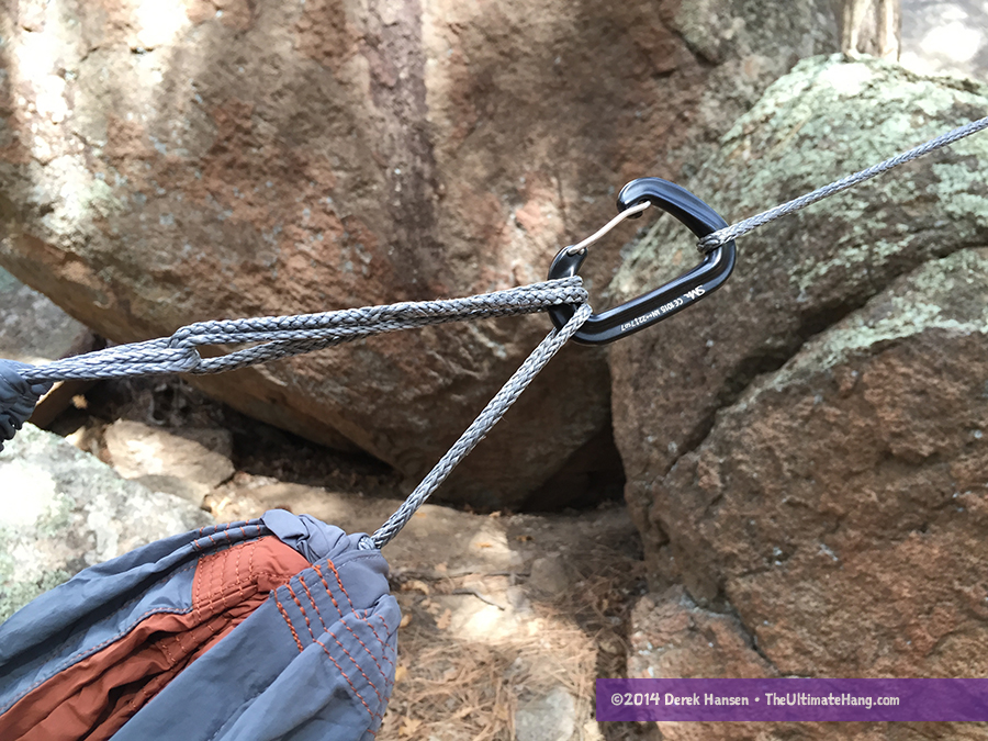 Carabiner and hammocks