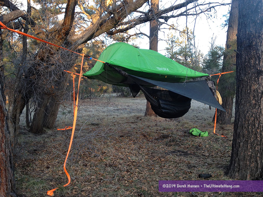 tentsile-stingray-hennessy-attached & Tentsile Stingray Tree Tent Review - The Ultimate Hang