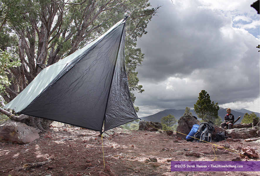 Wilderness Logics Tadpole Tarp and Door Mod & Wilderness Logics Tadpole Tarp and Door Mod Review - The Ultimate Hang