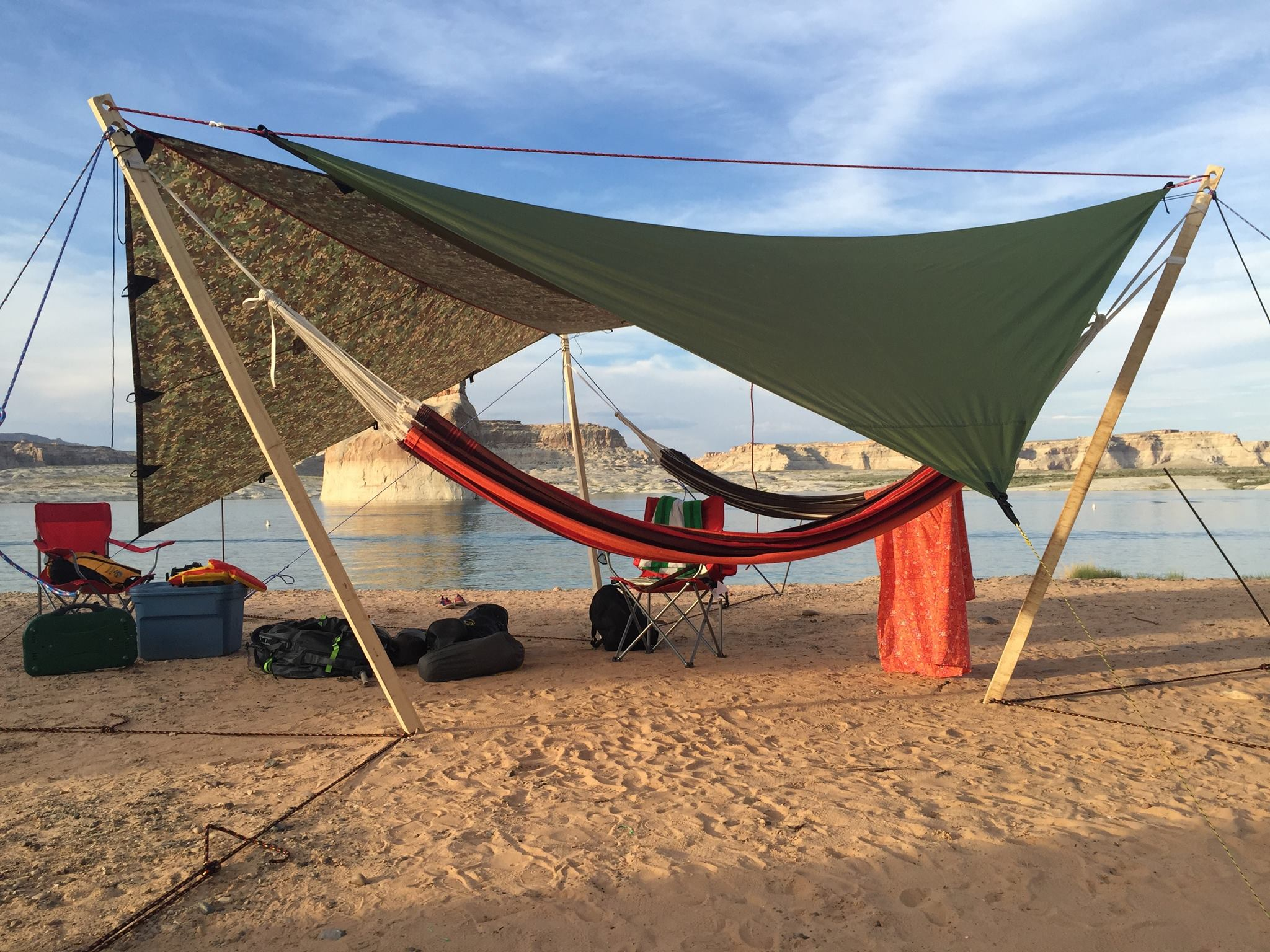 3 Person Hammock Stand The Ultimate Hang