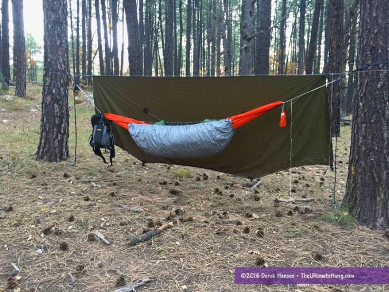lesovik ultralight hammock