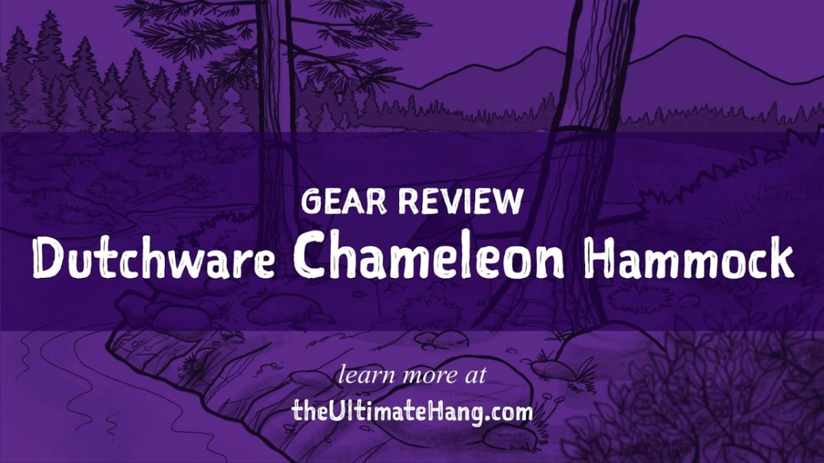 Review: Dutchware Chameleon Hammock