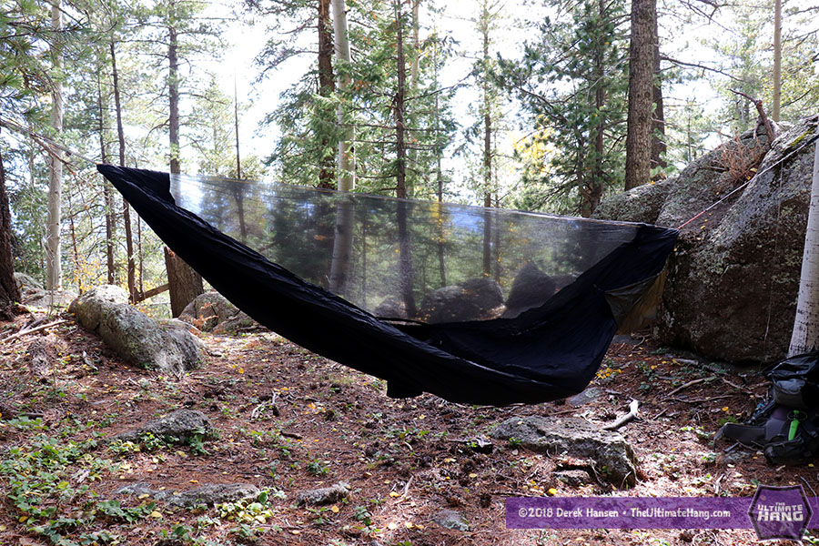 Review - Hammock Gear Netted Hammock