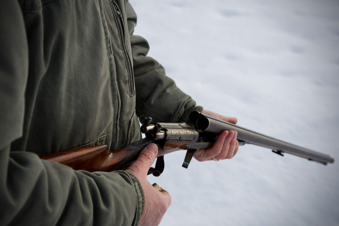 For your next bird hunt, try a vintage side-by-side