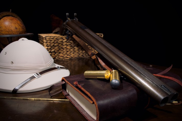 On safari with the 12-bore double rifle