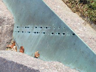 Morse Code On Copper