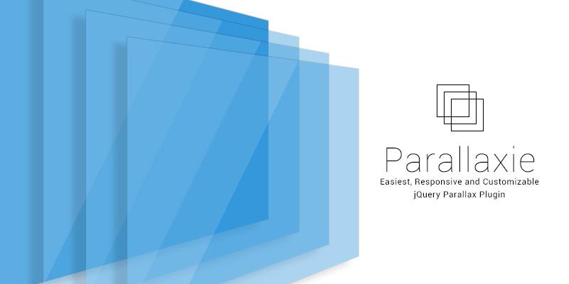 Parallaxie - Best jQuery Parallax plugin