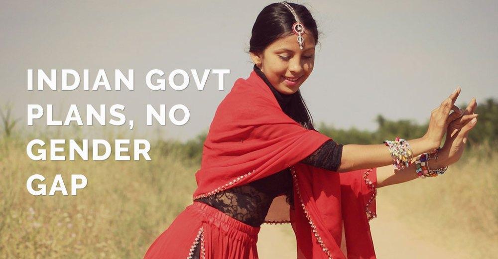 Indian Govt Plans No Gender Gap