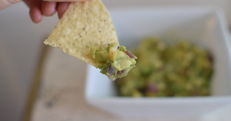 Brown Butter and Corn Guacamole