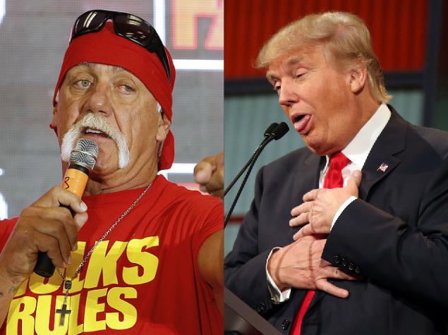 Donald Trump Announces Hulk Hogan As His Vice Presidential