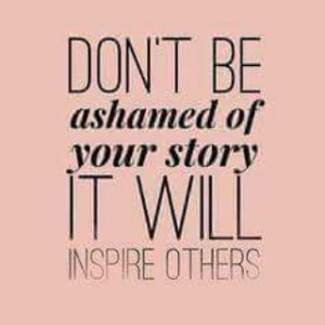 Your story will inspire