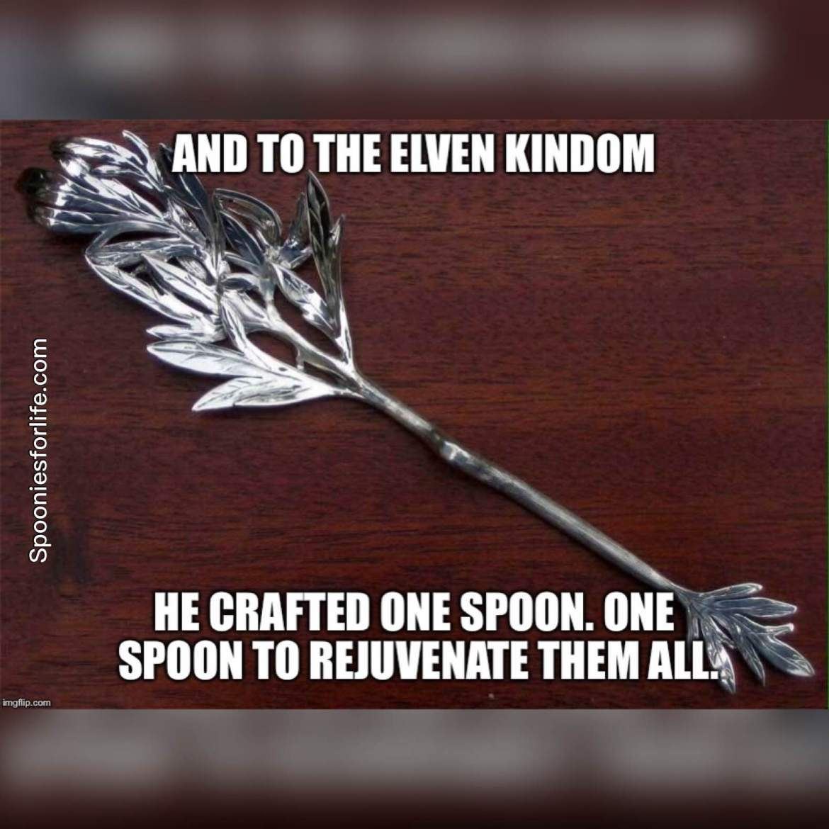 one spoon to rejuventate