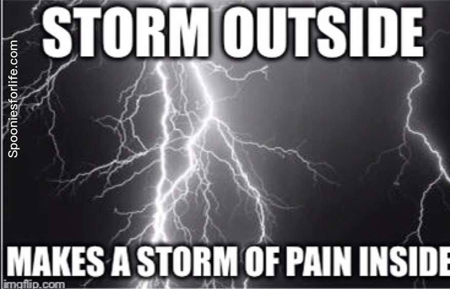 storm of pain
