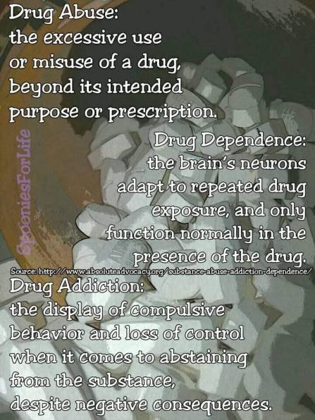 abuse vs dependence