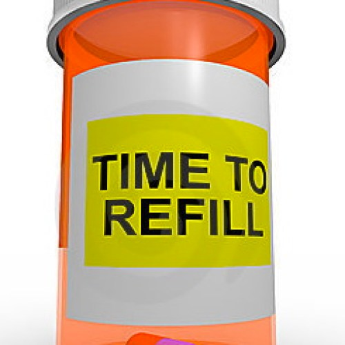 empty prescription bottle, time to refill, out of medication, tips, pharmacist, what to do if you run out of meds, hashimoto,'s, thyroid