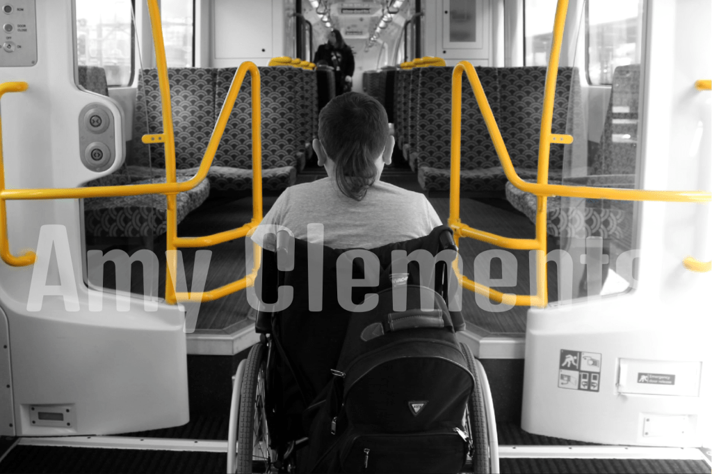 On the older Auckland suburban trains, there is only ¼ of each carriage dedicated to wheelchair and pram users. The rest of the train is inaccessible to those in wheelchairs. The new suburban trains, however, have a whole car dedicated to wheelchair and pram accessibility. This gives wheelchair users a lot more room to manoeuvre.