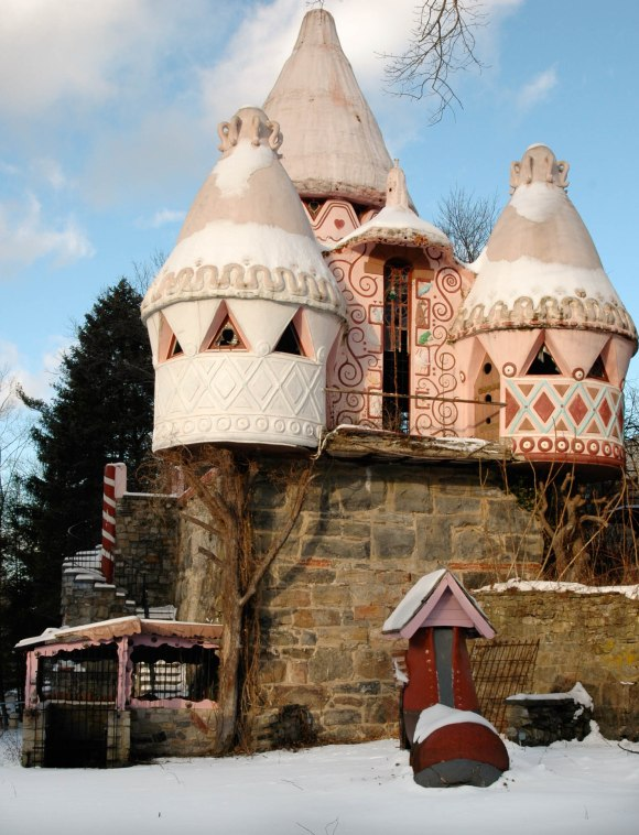 Gingerbread castle 1 of 2 The Gingerbread Castle of New Jersey