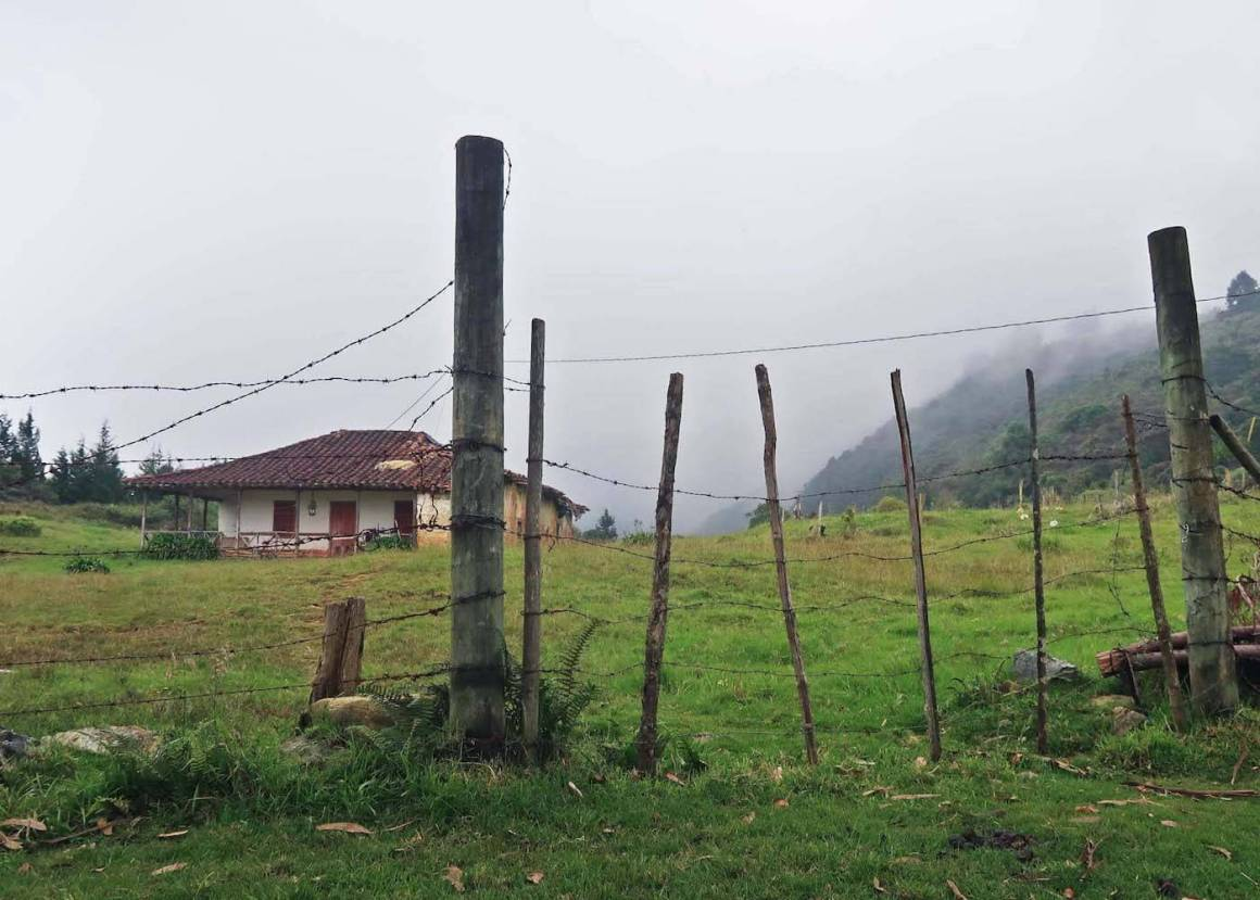 Farm along way on the Parque Arvi hike