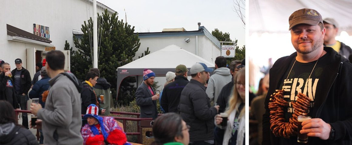 Strange Brewfest Friendly Crowd