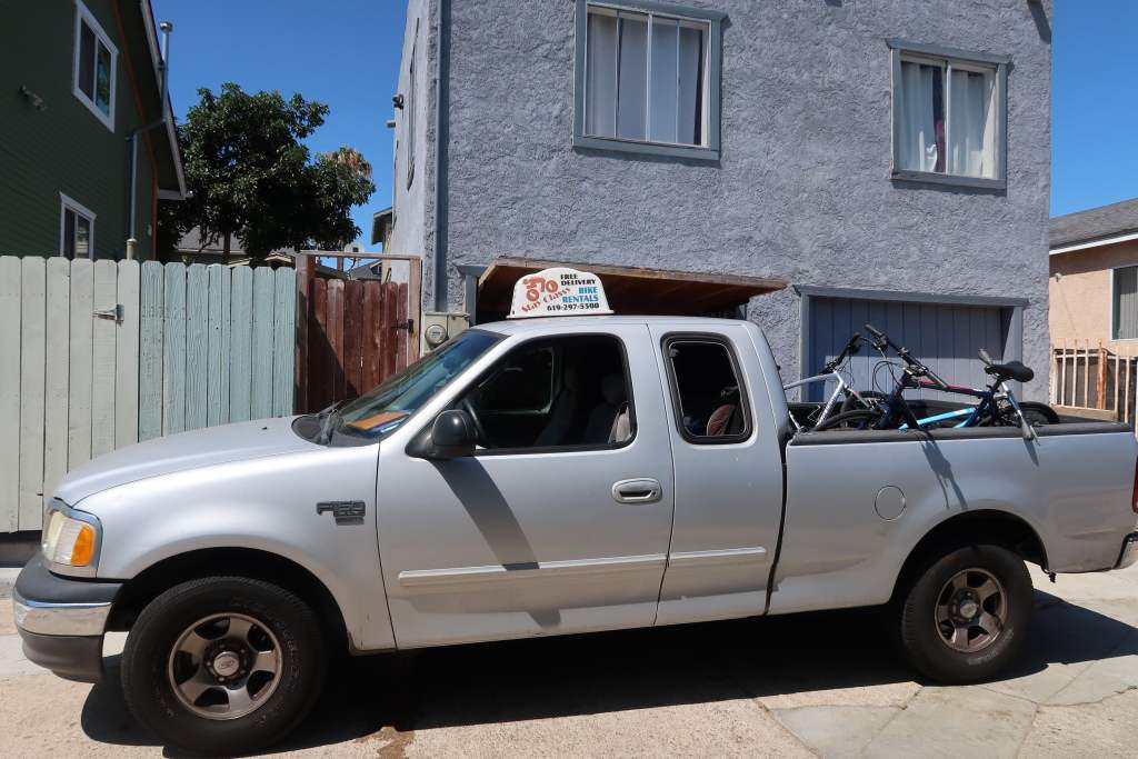 Stay Classy bike rentals truck