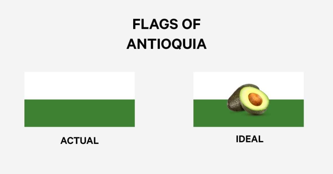 Avocado Antioquia Flag Moving to Medellin