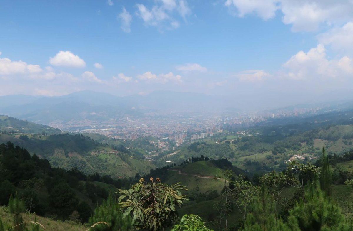 View of Medellin