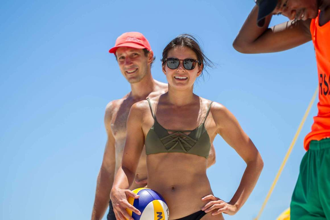 stay fit camps bay beach volleyball cape town