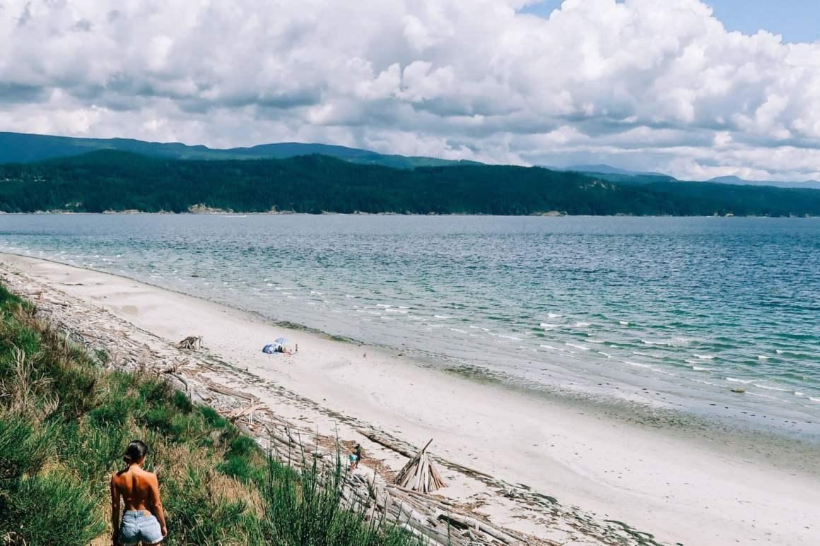 south beach views on savary island