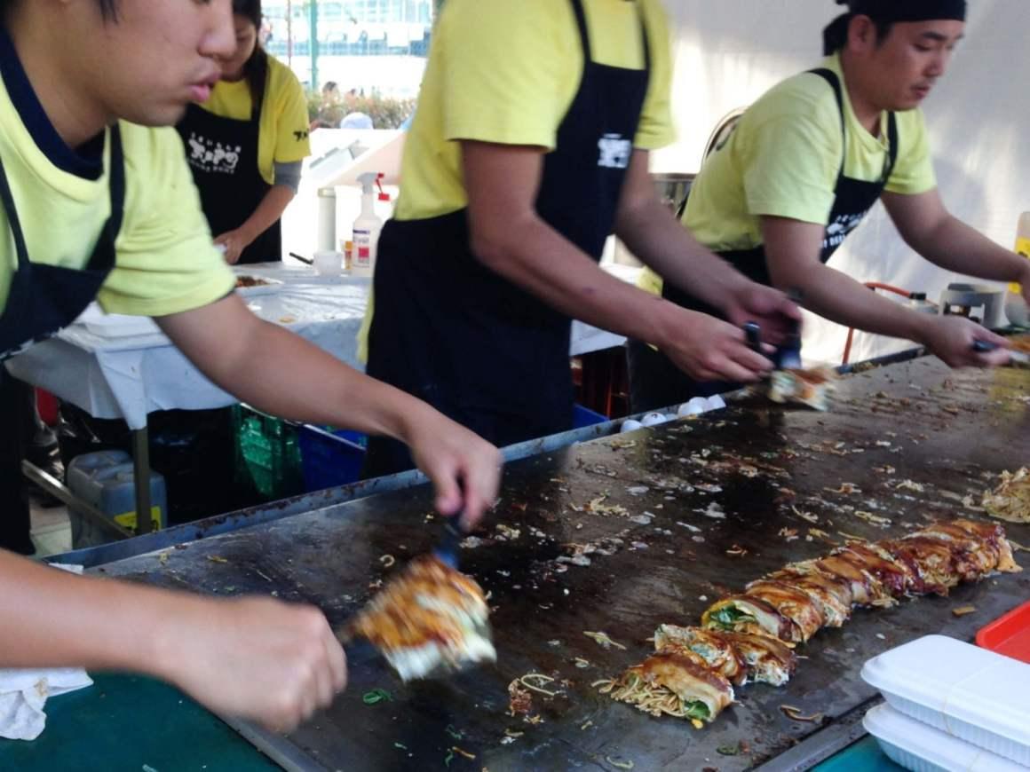 saijo sake festival food