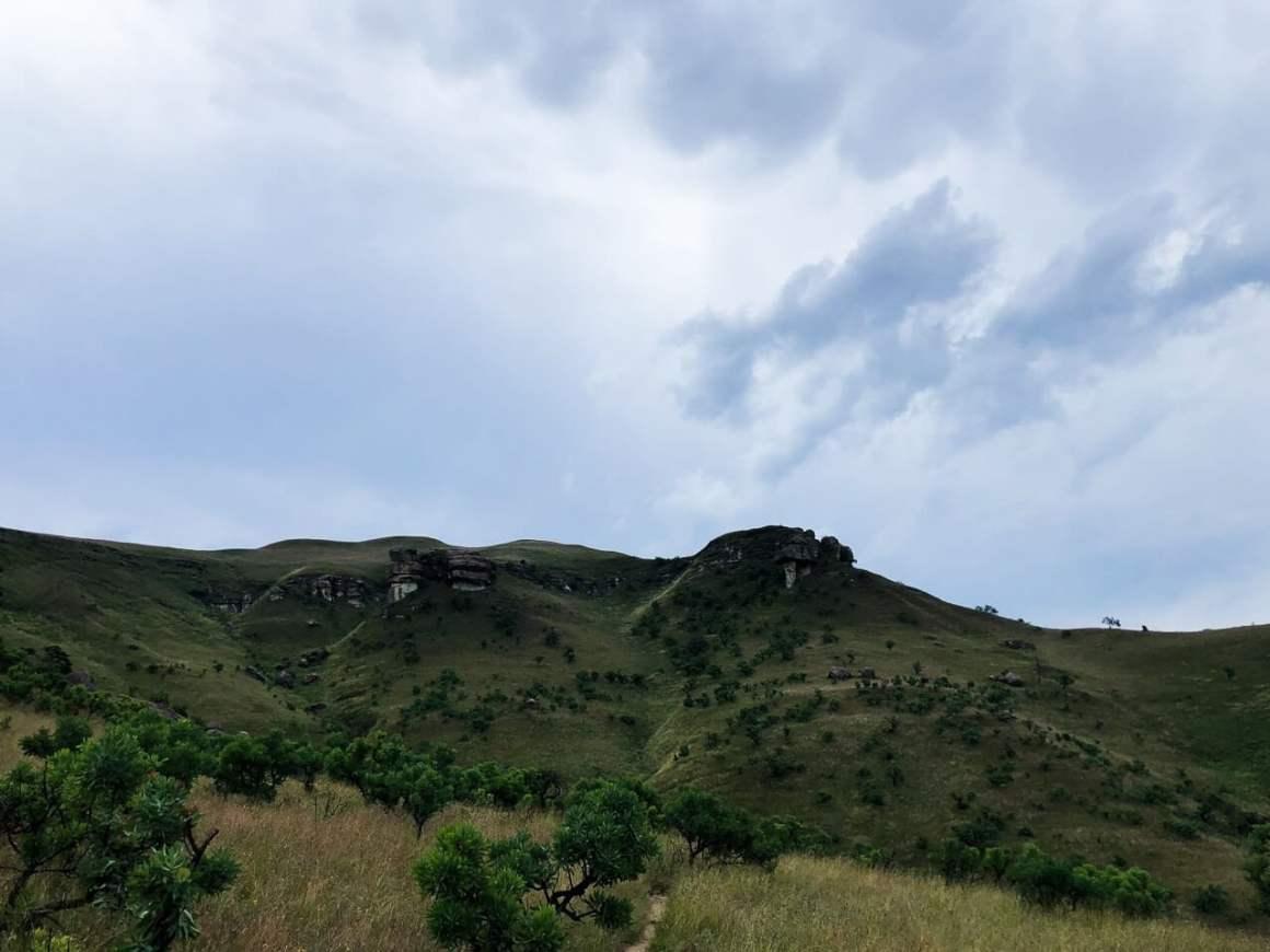 looking towards mushroom peak
