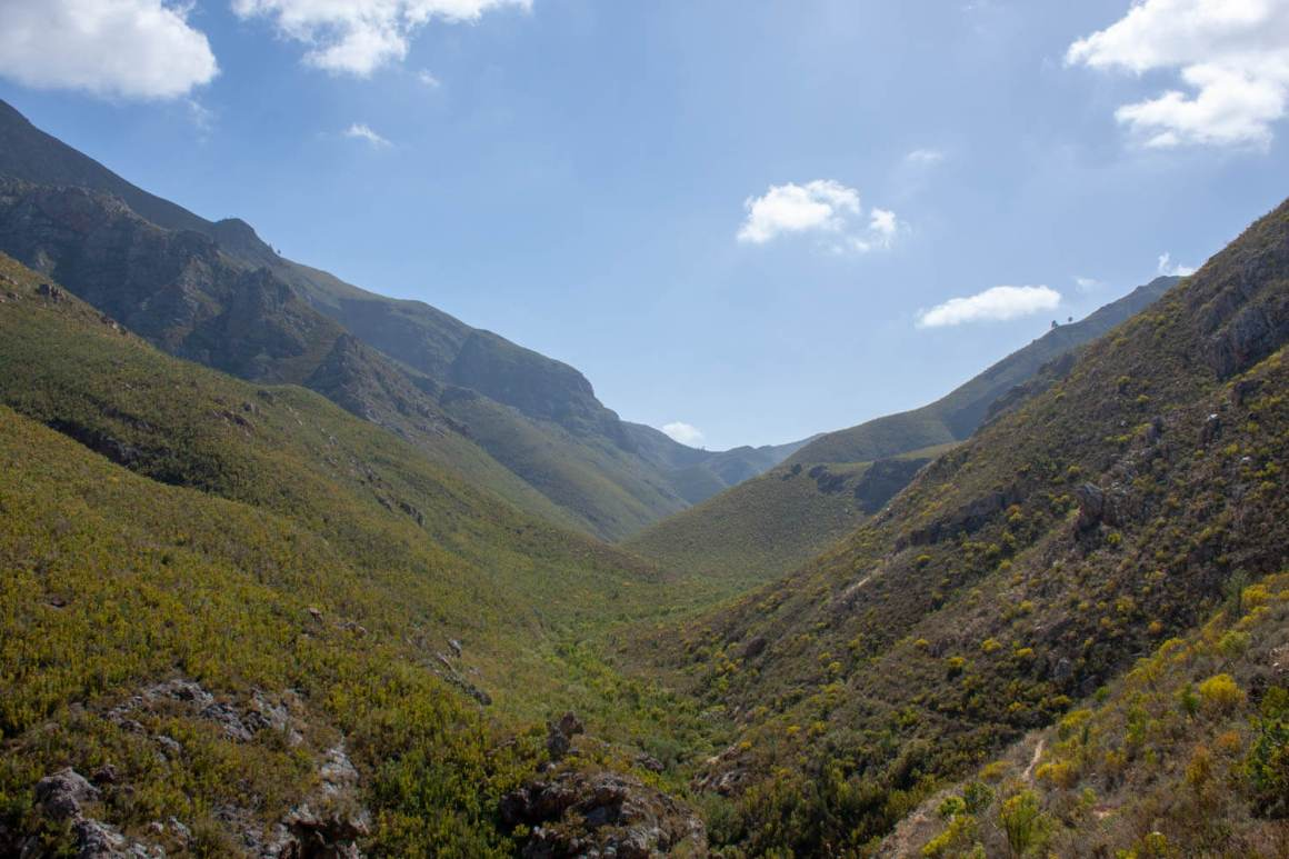 Valley of Boesmaskloof Trail