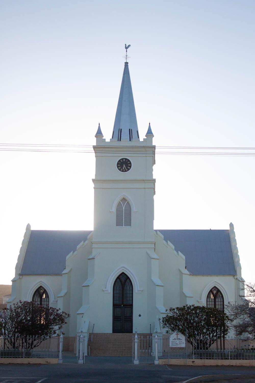 The church in Prince Albert