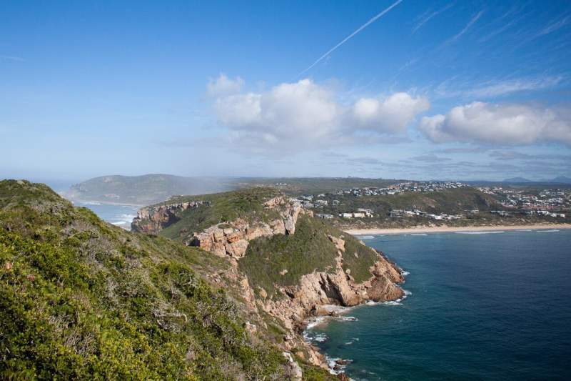 Views of Plettenberg bay from Robberg Nature Reserve.