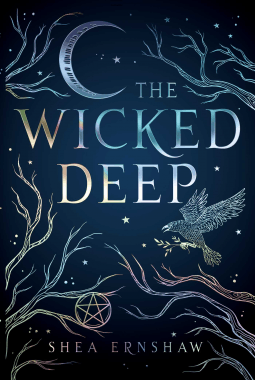 The Wicked Deep by Shea Ernshaw blue book cover