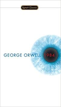 Inspirational books for writers 1984 by George Orwell book cover