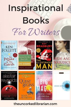 Inspirational Books For Writers From Indie Authors with 8 book covers
