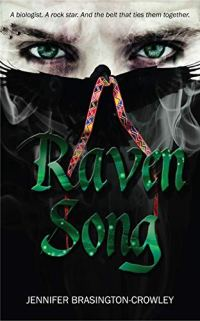Looking for inspirational books for writers? Raven Song by Jennifer Brasington-Crowley is a contemporary adult romance about falling for a rock star. #romance #booklist #amwriting #bookreview #fiction