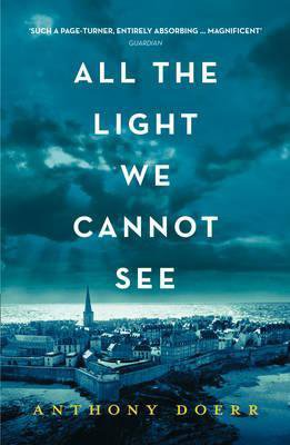 All The Light We Cannot See by Anthony Doerr blue book cover